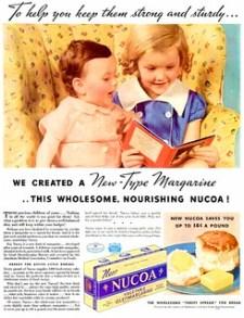 Nucoa Oleomargarine - Advertisement from February, 1937