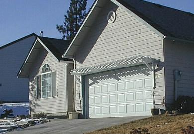 Arbor Over Garage Door Plans