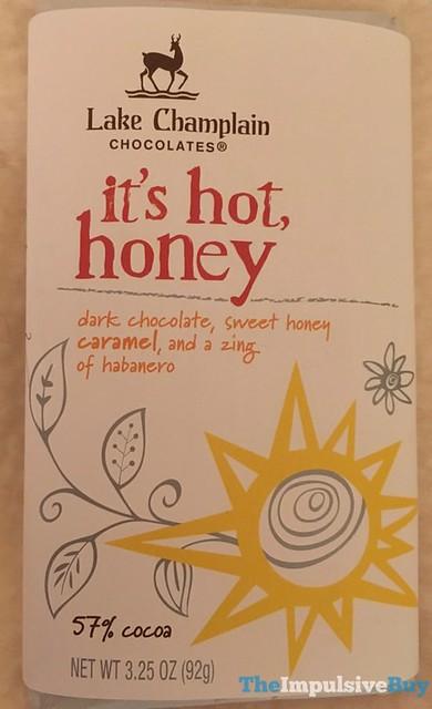 Lake Champlain Chocolates It's Hot Honey Bar