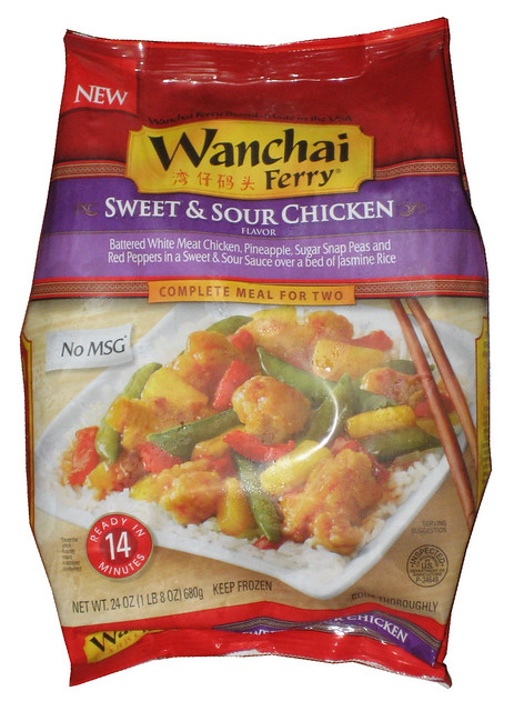 Wanchai Ferry Sweet & Sour Chicken Frozen Meal