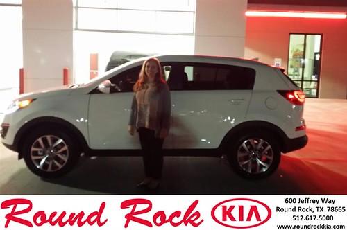 Congratulations to Rhonda Spott on your #Kia #Sportage purchase from Roberto Nieto at Round Rock Kia! #NewCar by RoundRockKia