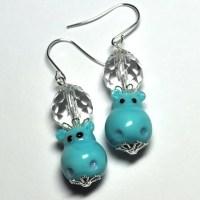 hippo earrings   Flickr - Photo Sharing!