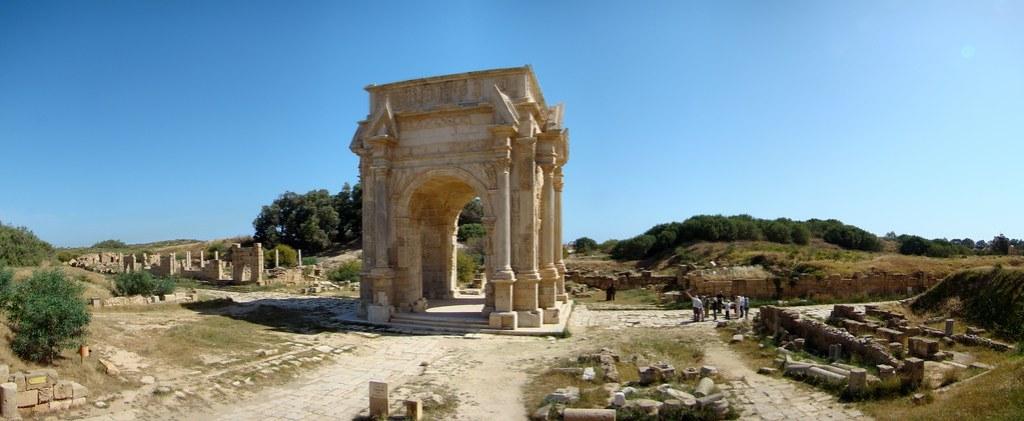Arco de Septimio Severo Leptis Magna Libia 02