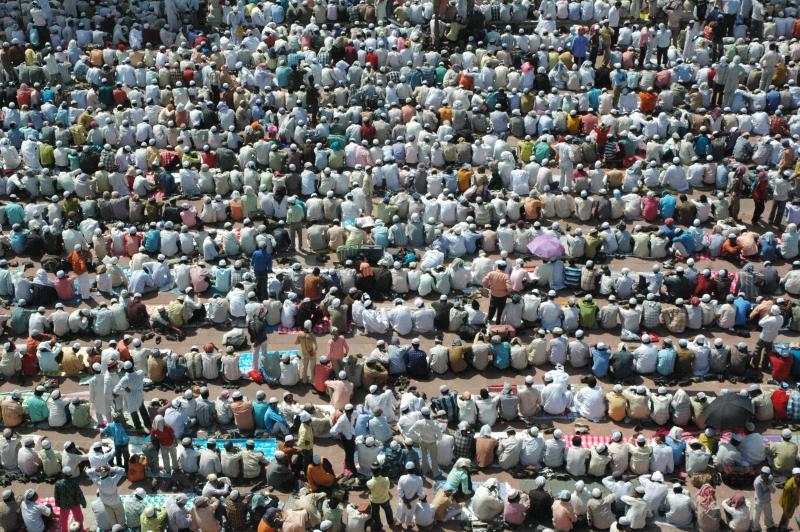 Eid festivities @ JamaMasjid, Delhi
