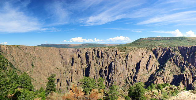 Black Canyon of the Gunnison National Park, South Rim, Colorado, September 19, 2009