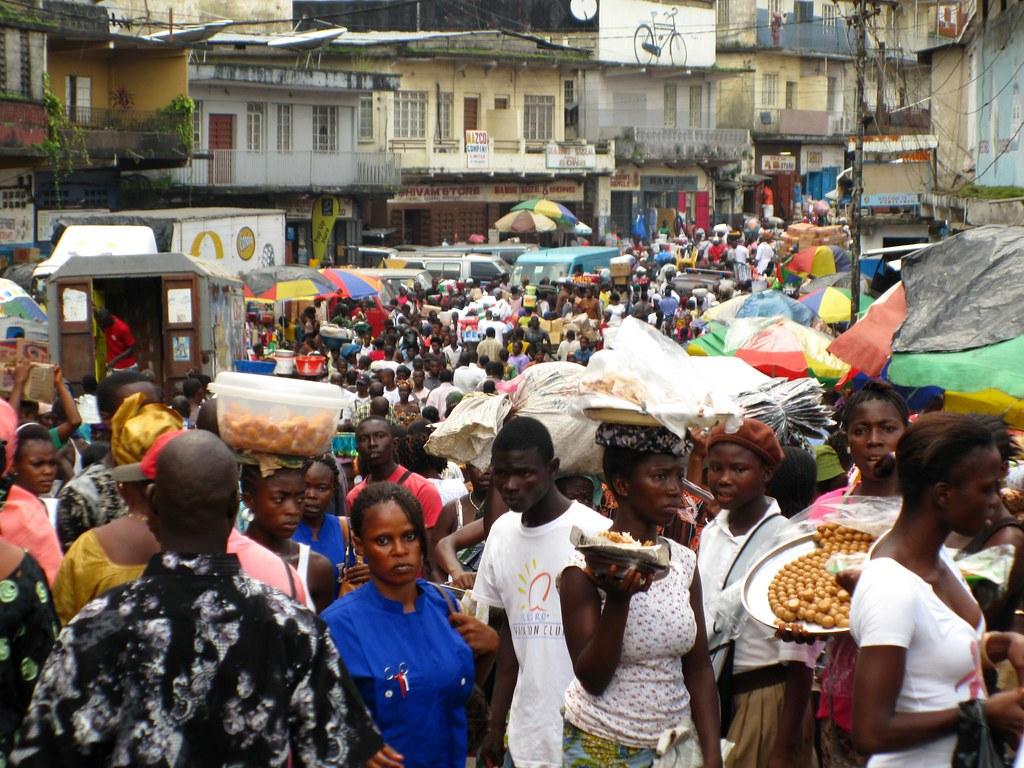 Sani Abacha Street, Freetown, Sierra Leone, October 2009
