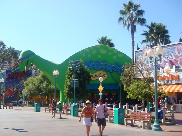 Route 66 path - Green dino