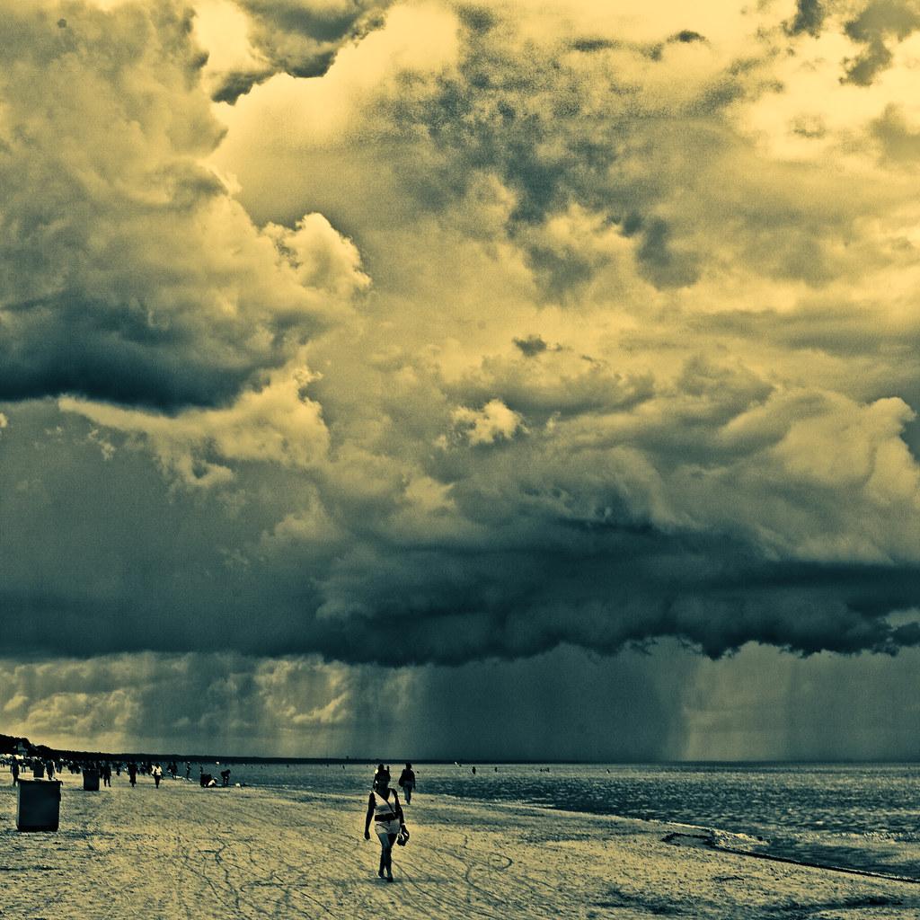 a walk on the beach VII