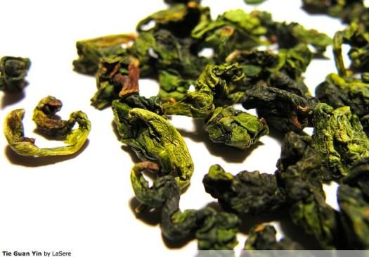Tieguanyin Oolong Tea - Photo courtesy of Serena