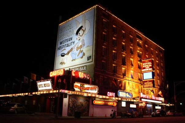 Hotel Nevada - 501 Aultman Street, Ely, Nevada U.S.A. - July 4, 2009