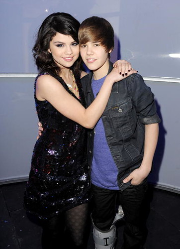 justin bieber, selena gomez. by my heart beats for love. <3