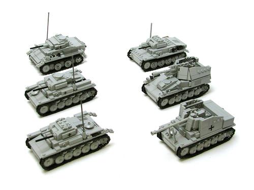 Familia Panzer II de Panzerbricks