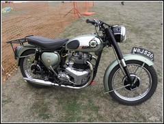 BSA Shooting Star 500 Twin 1958