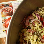 Deli-Style Pasta Salad - mixed, with recipe