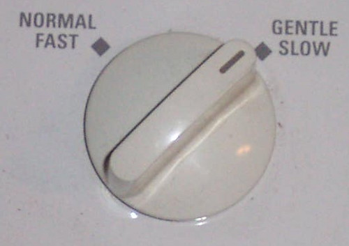 GE Washer speed knob