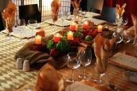 Harvest Table Setting for Corporate Dinner | Flickr ...