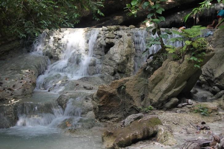 Aguinid Samboan waterfalls