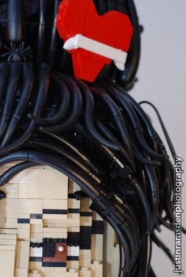LEGO Amy Winehouse (Hair)