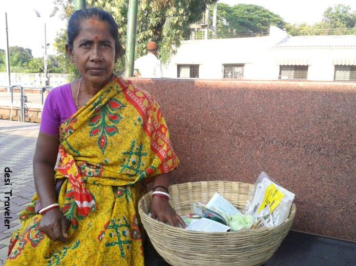 vanita vegetable seller ballarshah station