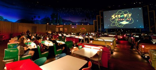 Sci-Fi Dine-In Panorama
