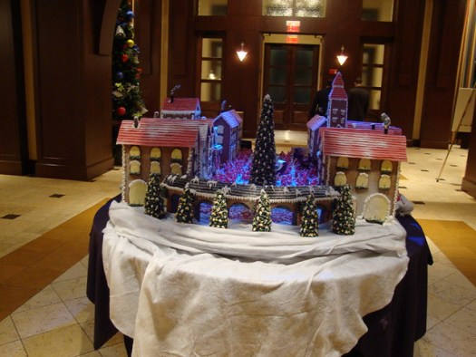Gingerbread Houses At Ross Bridge Hotel, Birmingham AL