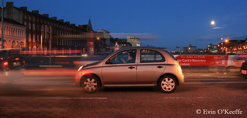 Night Traffic in Cork City