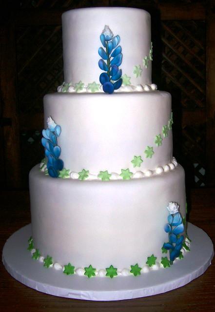 Bluebonnet Wedding Cake Flickr Photo Sharing