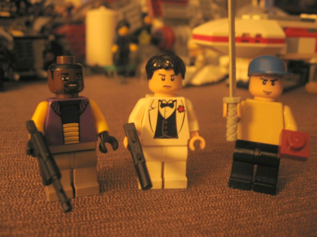 Lego Left For Dead 2 Characters  These guys are 3 out of