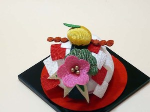 KAWAII! Traditional Japanese New Year decoration, Kagami mochi Ornament