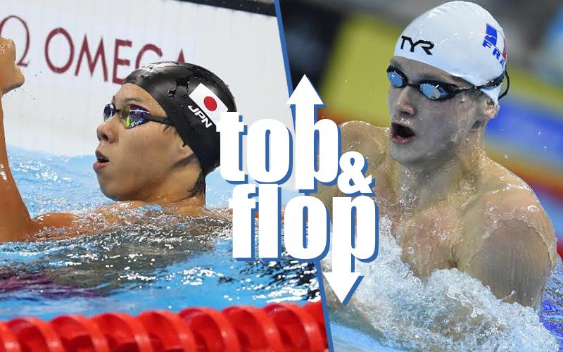 Il Top & Flop del nuoto: Watanabe e la rana di Francia