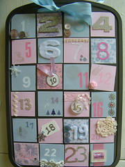 Pastel Advent Calendar