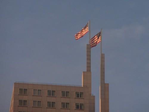 Tweezer Tower Flags