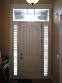 Custom Sidelight Shutters | Tired of no great solutions ...