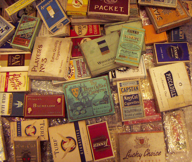 Collection of Old Cigarette Packets  Flickr  Photo Sharing
