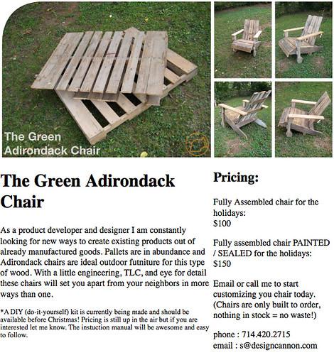 Craigslist  Green Adirondack Chair  Flickr  Photo Sharing