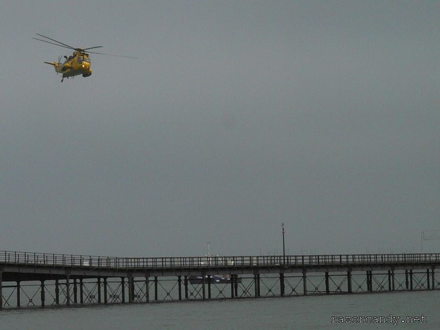 5 P1070634 RAF sea king SAR role demo _  Southend - 2008 (25th May)