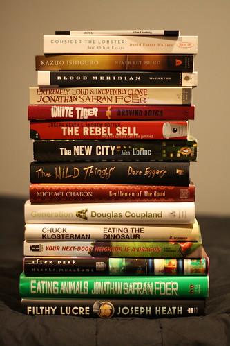 books read in 2009