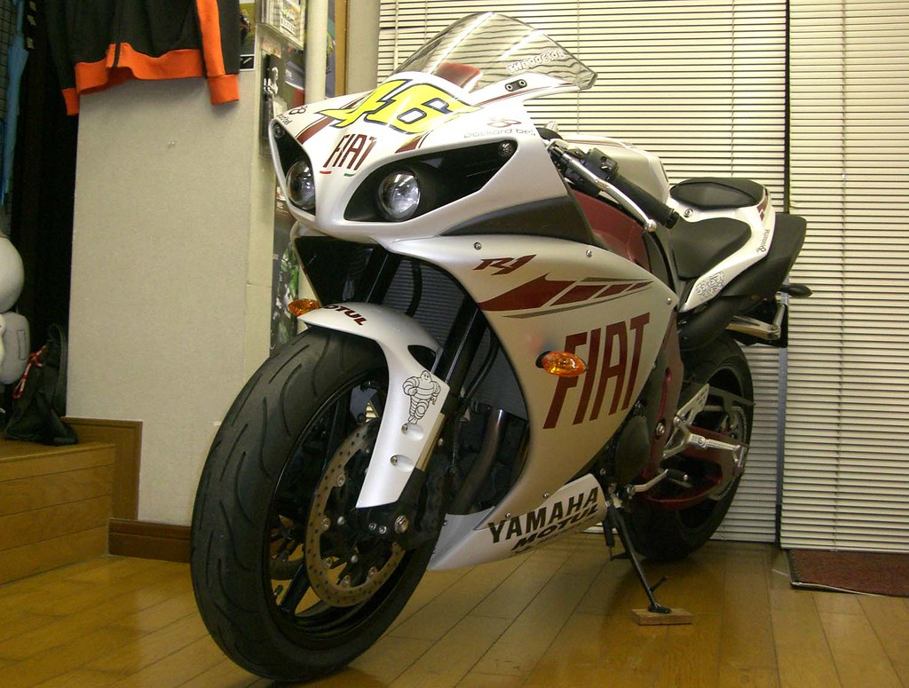 hight resolution of  r1 fiat replica color change by bluxgraphics motorcycle design japan midorikawa
