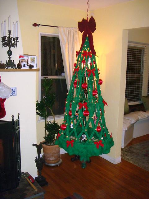 02 Macrame Christmas Tree E Flickr Photo Sharing