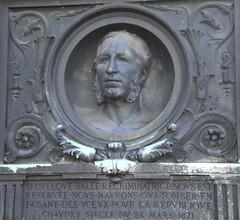 CHAUDEY SHOT 1871 - Montmartre cemetery, Paris, France