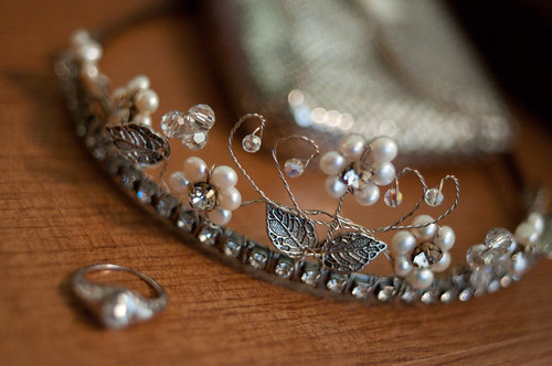 Tiara and ring