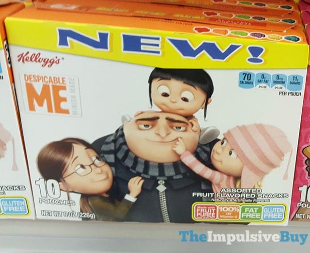 Kellogg's Despicable Me Fruit Snacks