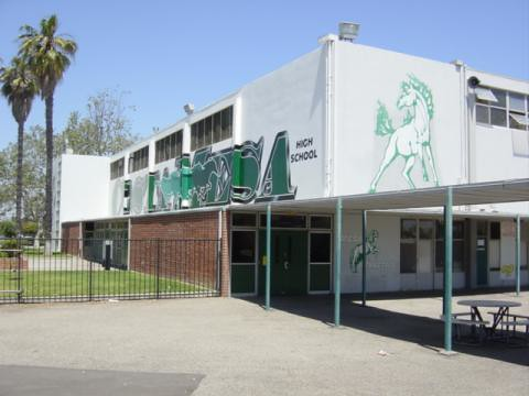 Costa Mesa High School Gym  I remember many fun dances