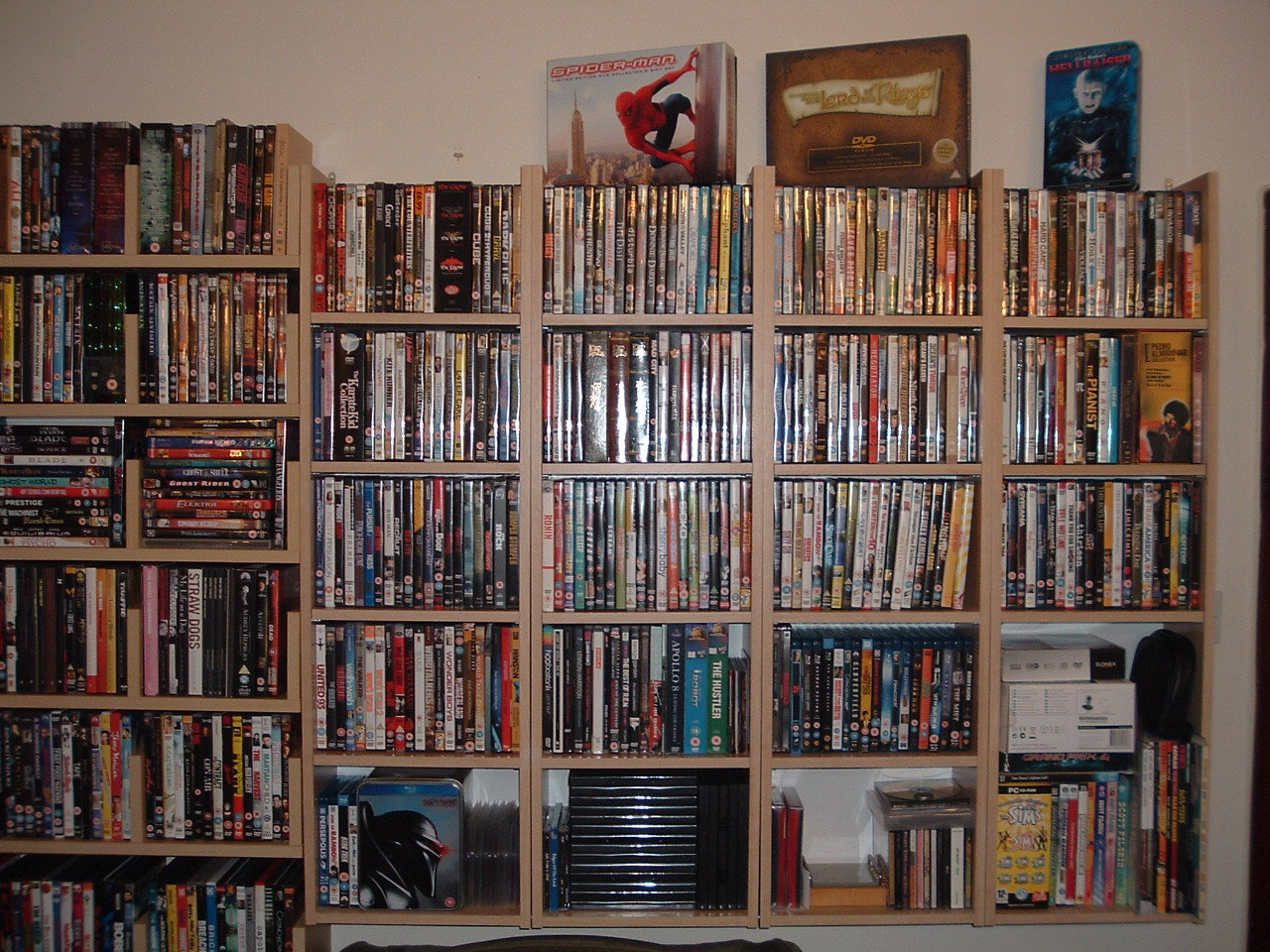 Cheapest Dvd Storage Shelf For A Large Amount Of Dvds Frugal