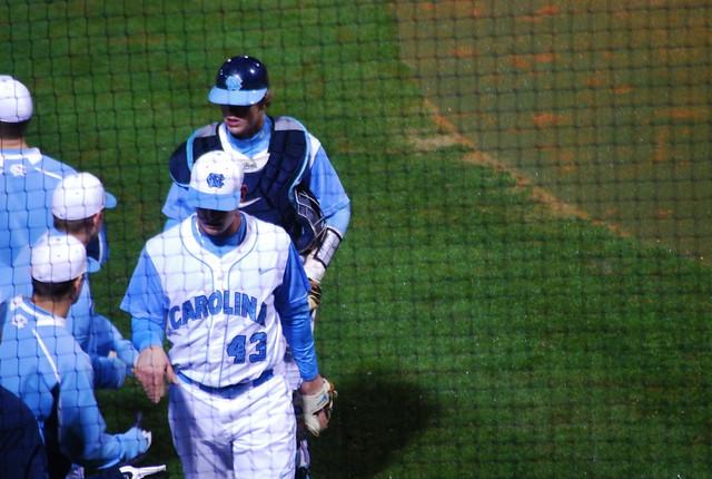 baseball: ga tech @ unc, game one