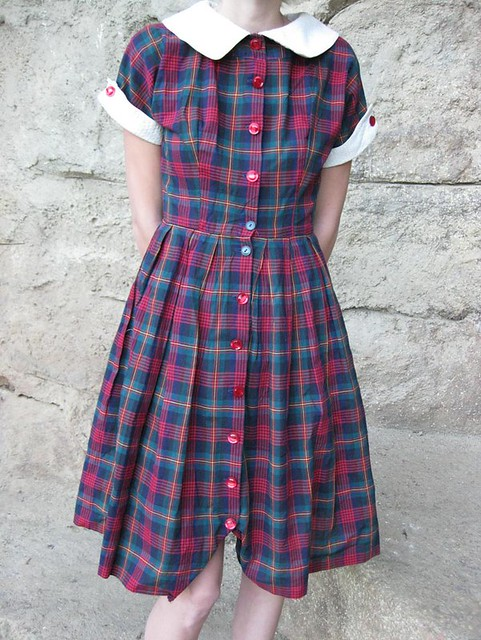 Plaid 50's by CastawayVintage