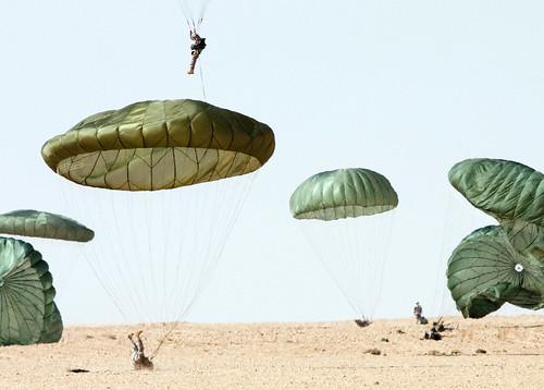Dropzone landing
