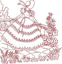 EMBROIDERY PATTERN REDWORK - EMBROIDERY DESIGNS