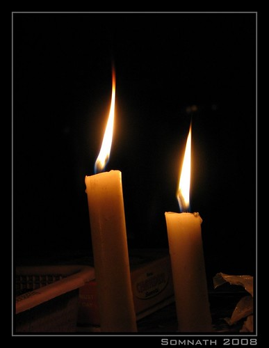 Candles by Somnath Mukherjee Photoghaphy