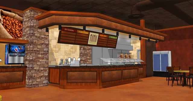 Restaurant Design  F  B Decor Design  Interior